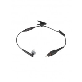 NNTN8294 - Operations Critical Wireless Earbud with 11.4''  cable, inline mic, Black