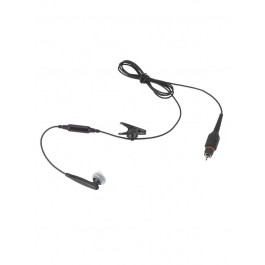 NNTN8295 - Operations Critical Wireless Earbud with 45.7''  cable, inline mic, Black