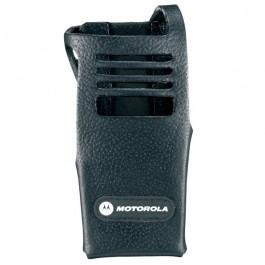 PMLN5029 Hard Leather Carry Case with 3 Swivel Belt Loop Motorola