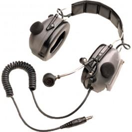 RMN4052 - Tactical Headband Style Headset, Gray