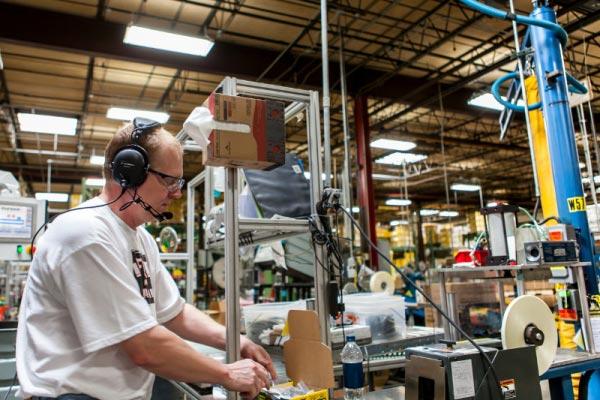 testing facility manufacturing two way radio use
