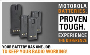 motorola batteries for radio