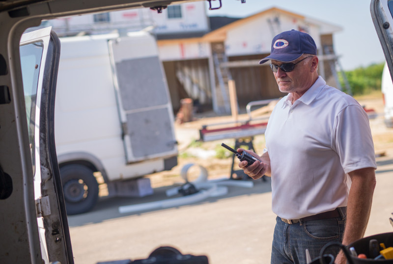 Construction Utilities Two Way Radios