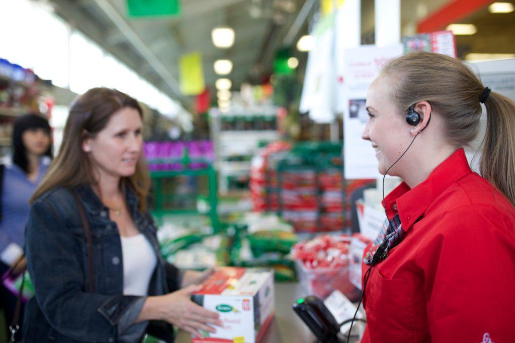 Retail, grocery store, two way radios, digital radios, radio accessories, motorola
