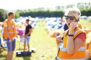 Two way radios recreation and events
