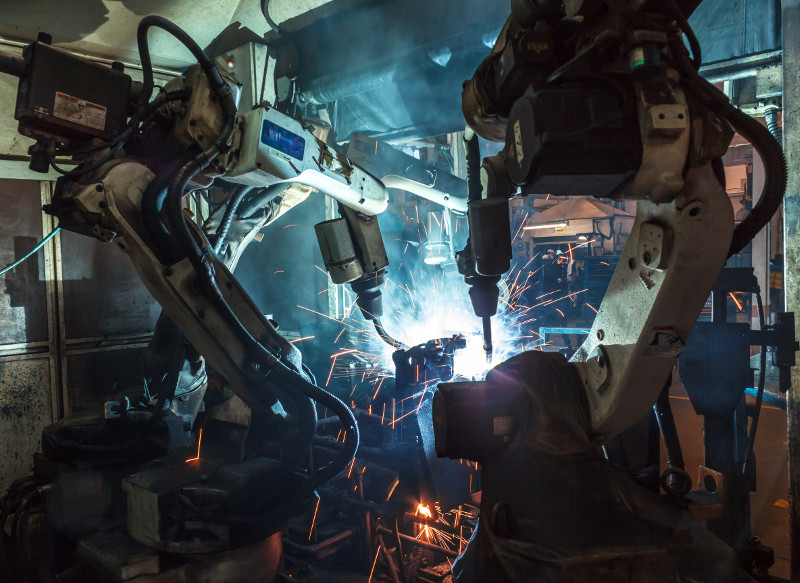 robotic welding for manufacturing